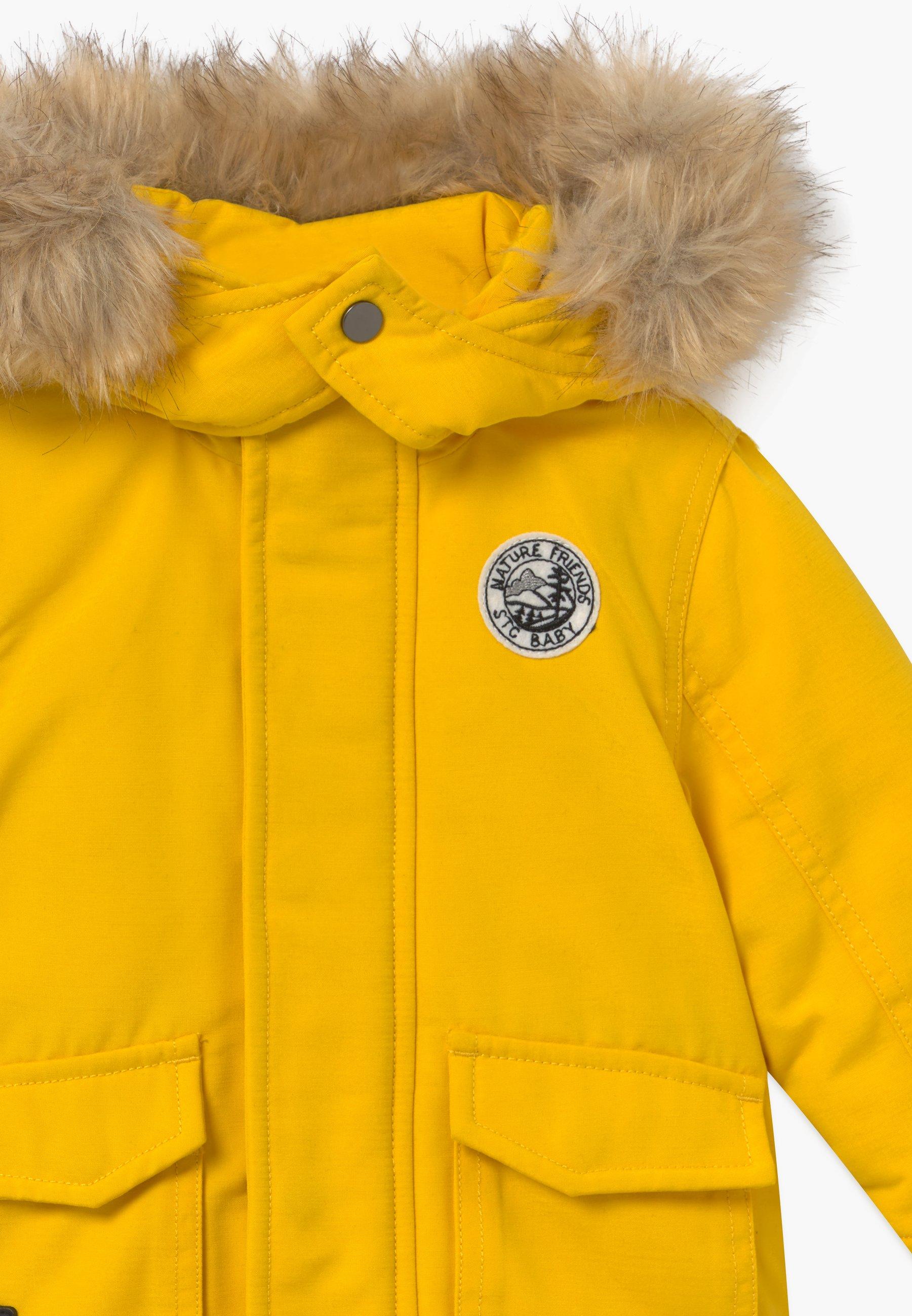 Dobra sprzedaż Zakupy Staccato Płaszcz zimowy - yellow | Dzieci Odzież 2020 M3ygE