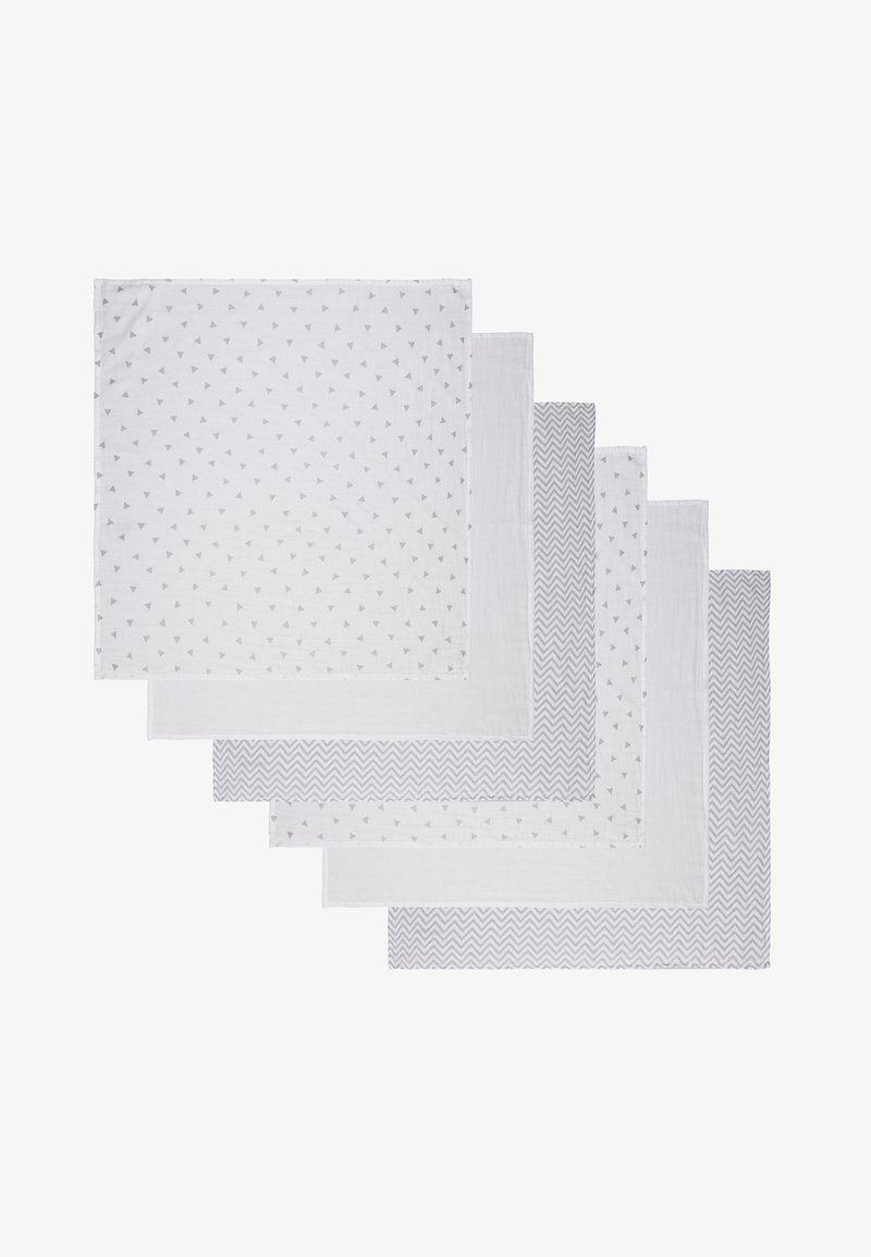 Staccato - MULLTÜCHER 6 PACK - Foulard - light grey melange