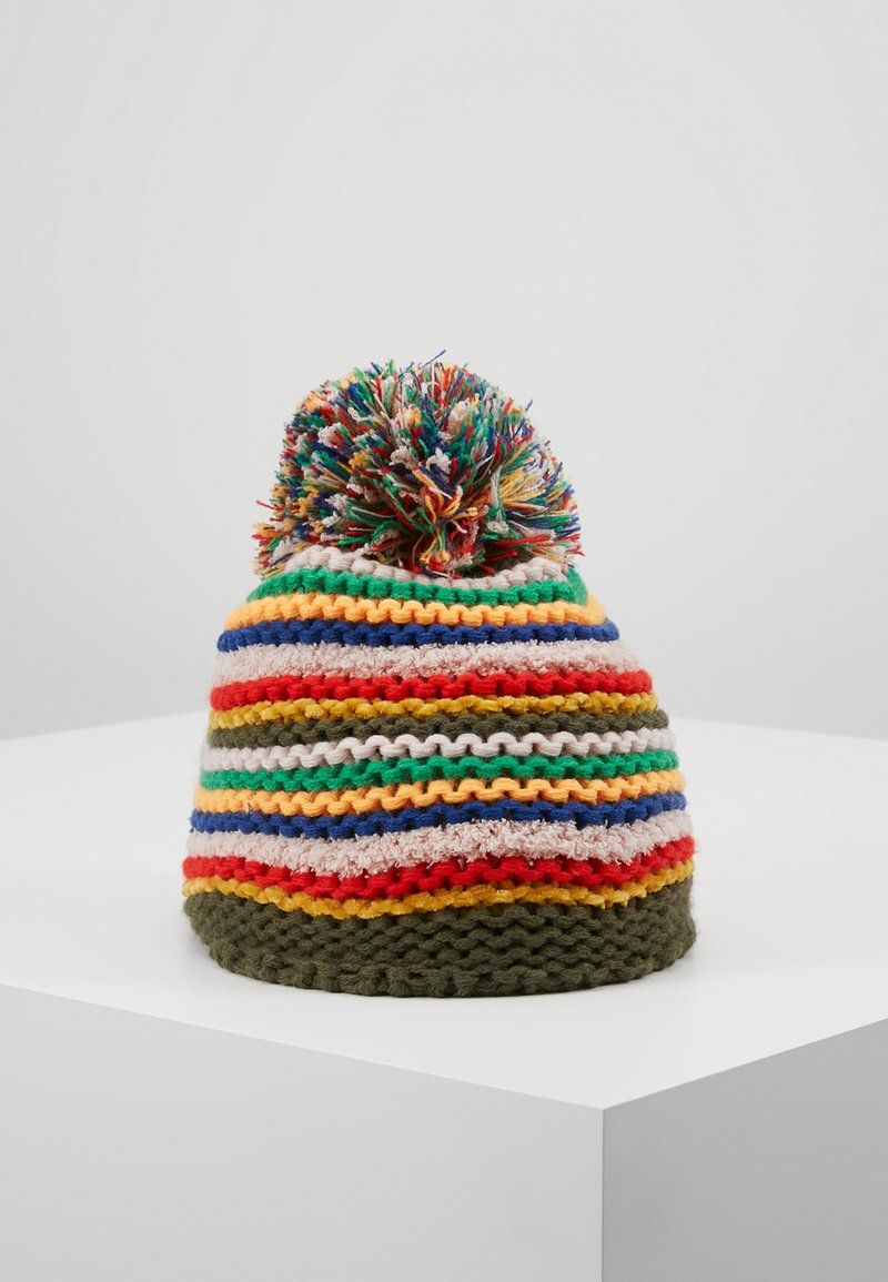 Staccato - KID TEENAGER - Beanie - khaki/multicolor