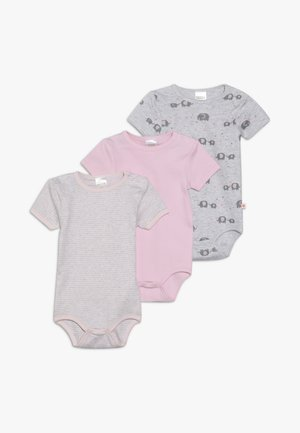 3 PACK - Body - light pink/grey