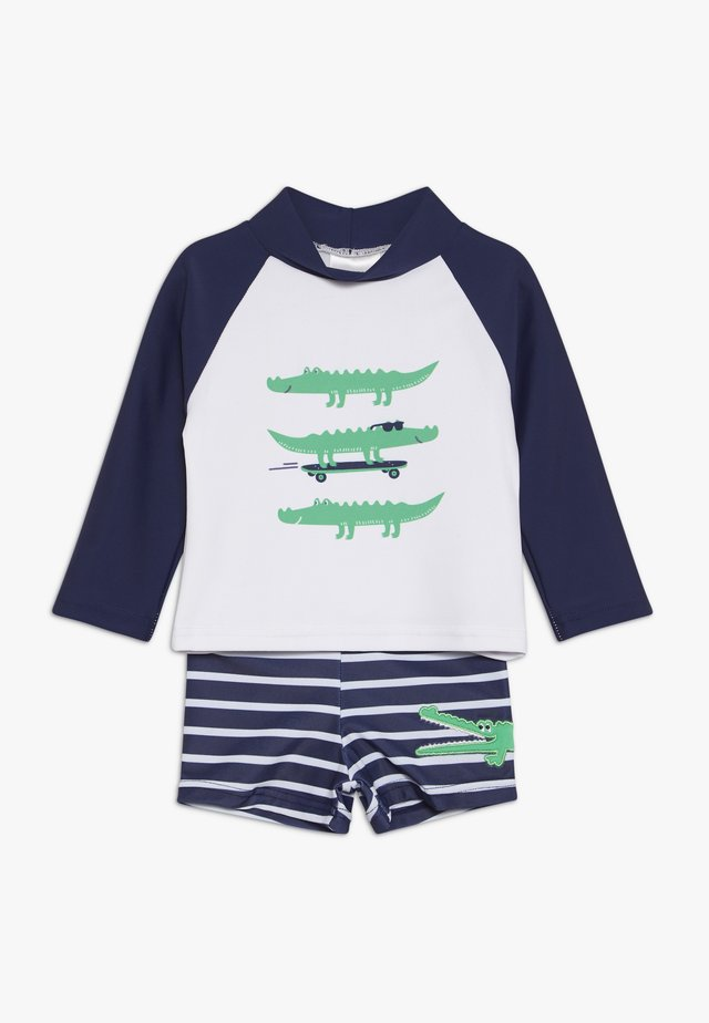 BABY SET - Zwemshorts - navy/white