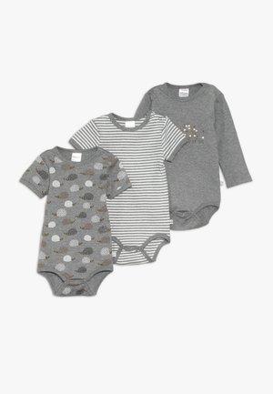 WOODLAND 3PACK BABY - Body - grey