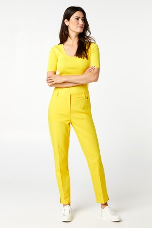 SIEN - Trousers - hello yellow