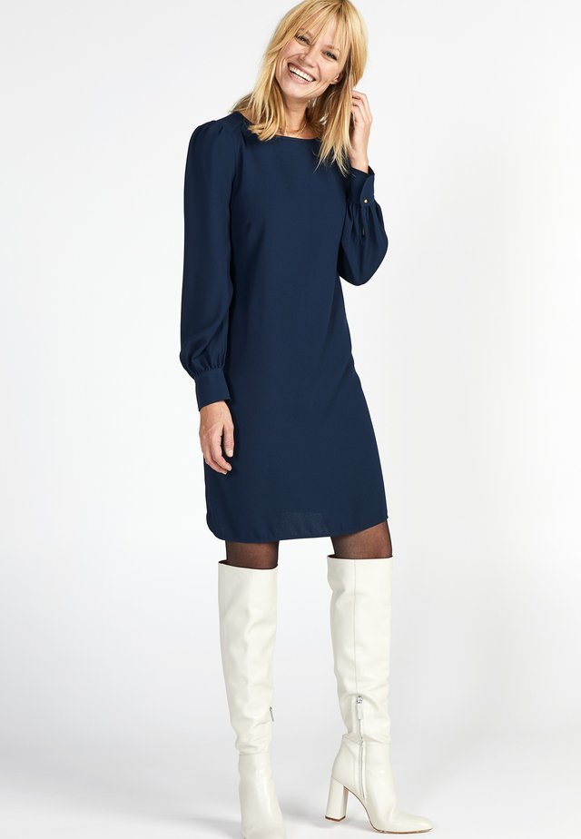 Day dress - navy