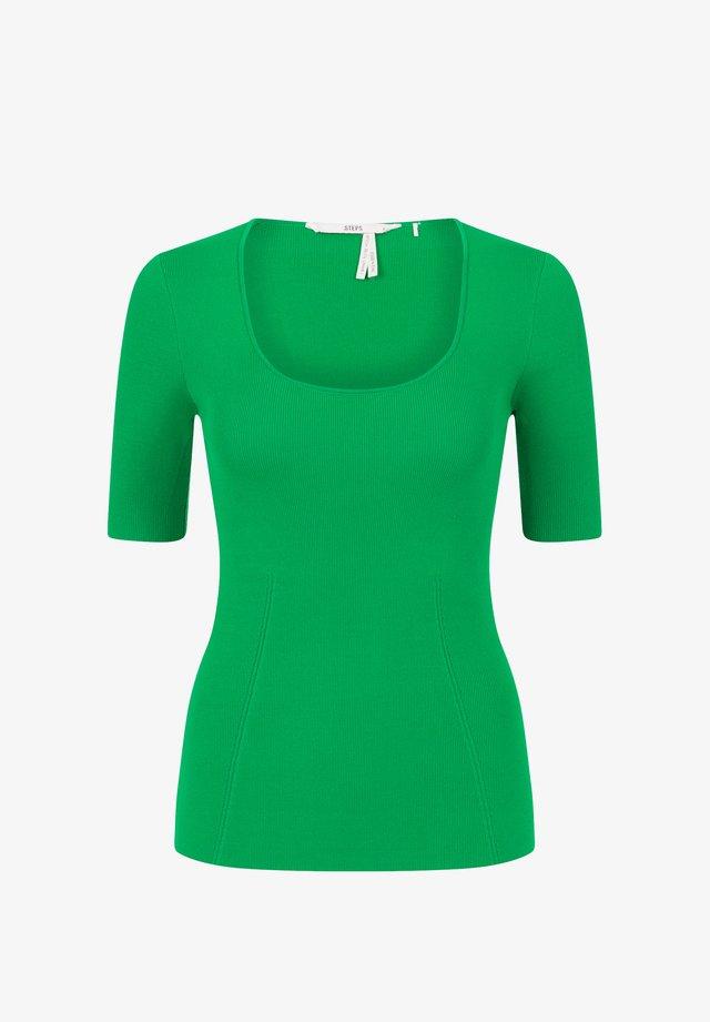 BONNETERIE - Basic T-shirt - grass green