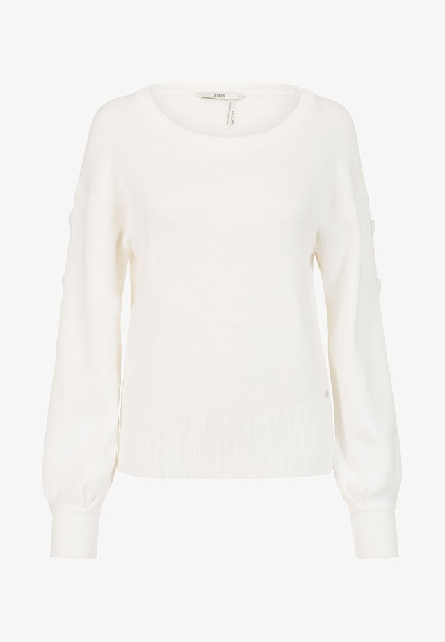 COLLECTION WOMEN BONNETERIE W - Jumper - snow white