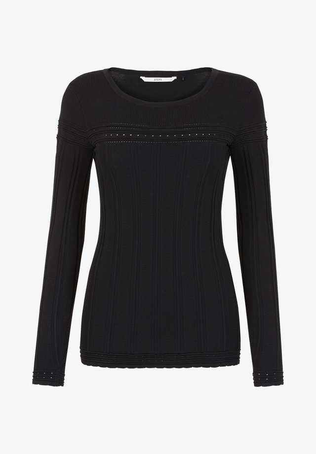 COLLECTION WOMEN BONNETERIE W - Jumper - black