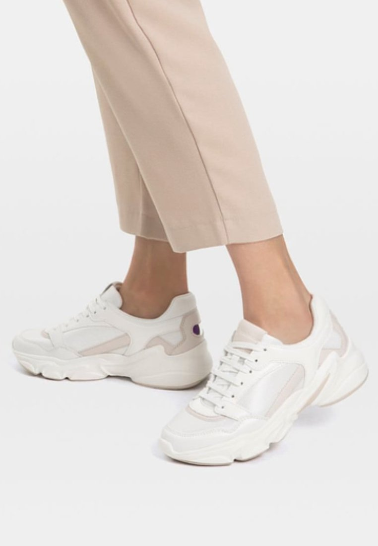 Stradivarius - Trainers - white