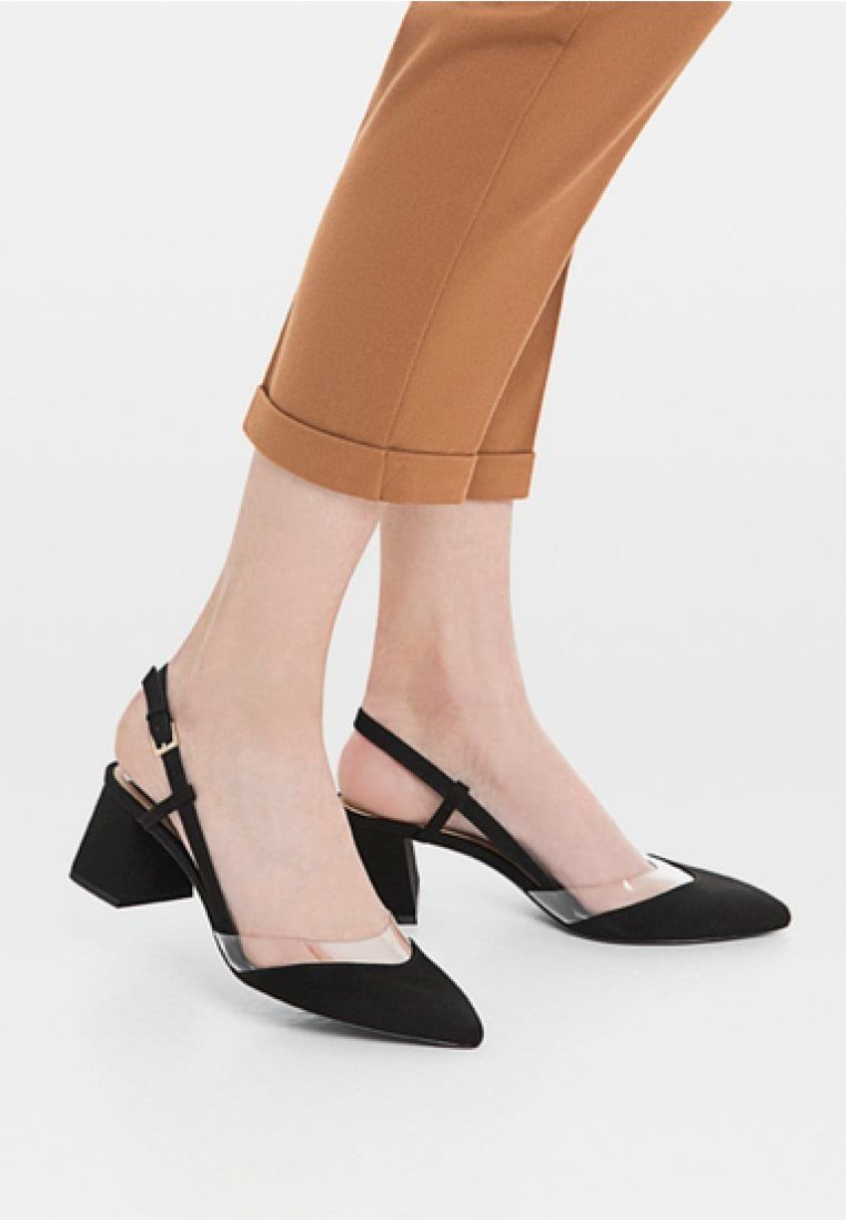 Stradivarius - Ballet pumps - black