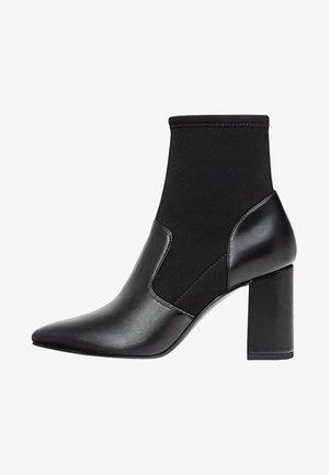 MIT STRETCHSCHAFT - Støvletter - black