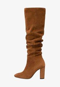 Stradivarius - High heeled boots - brown - 1