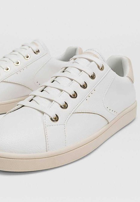 Stradivarius MIT ZIERELEMENT - Sneakers - white