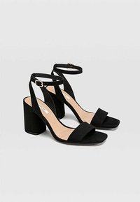 Stradivarius - High heeled sandals - black - 2