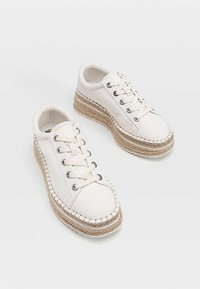 Stradivarius - Sneakers laag - white - 3