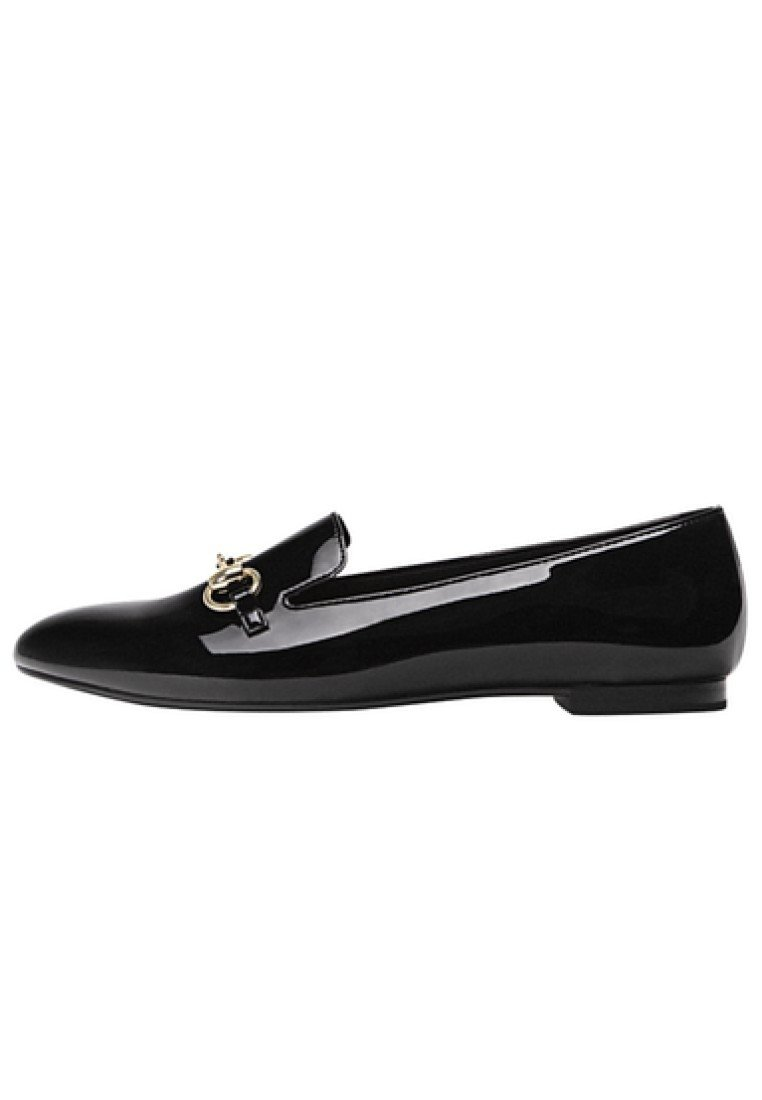 Stradivarius Mit Schnalle - Loafers Black