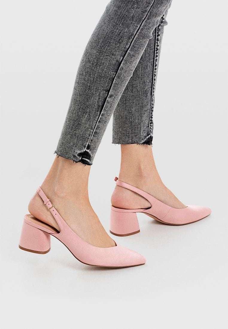 Stradivarius - Escarpins - pink