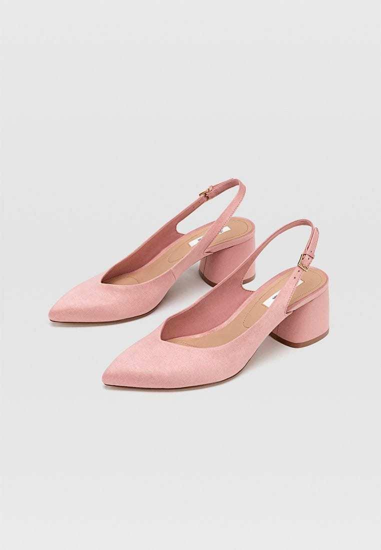 Stradivarius Escarpins - pink