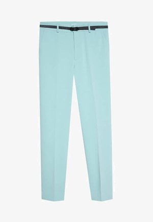 MIT TROPENPRINT - Bukser - turquoise