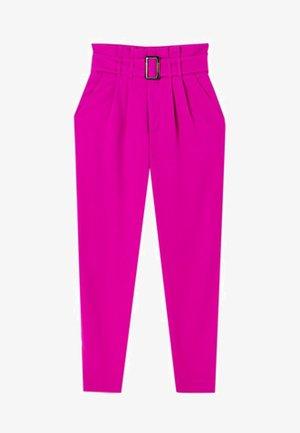 MIT GÜRTEL - Bukser - pink