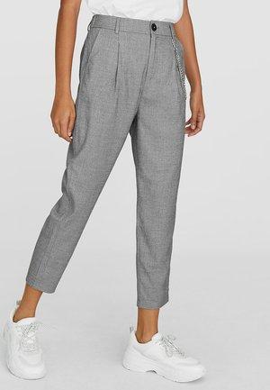 MIT KETTEN  - Pantaloni - grey