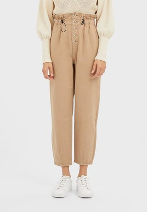 PAPERBAG-HOSE 07452190 - Trousers - beige