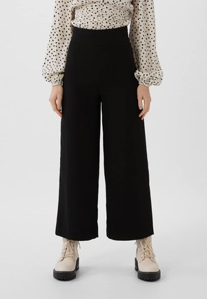 SMART - Trousers - black