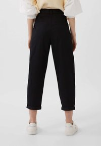 Stradivarius - Trousers - black - 2