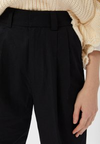 Stradivarius - Trousers - black - 3