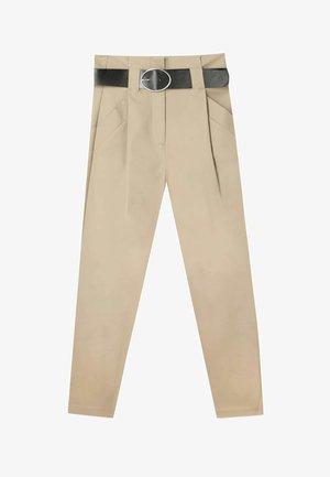 UTILITY - Pantalon classique - beige