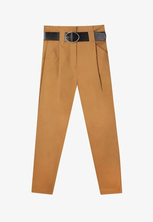 UTILITY - Trousers - brown