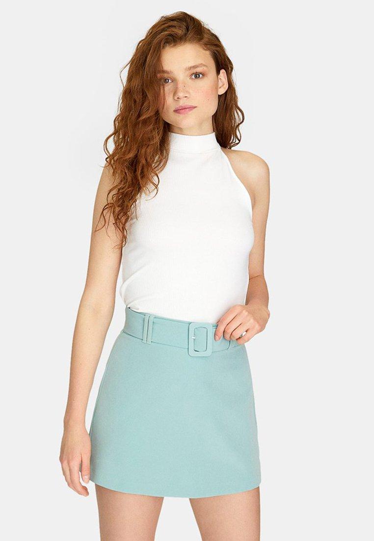 Stradivarius - Shorts - turquoise
