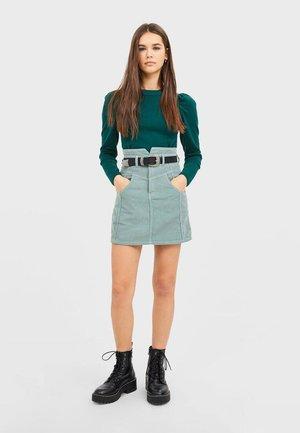 01320515 - A-line skirt - green