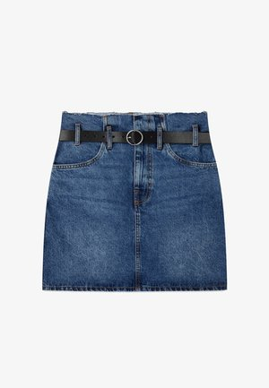 PAPERBACK - Jupe en jean - dark blue