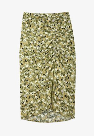 GERAFFTER - Blyantnederdel / pencil skirts - light green