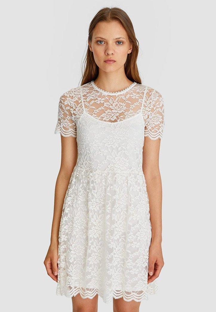 Stradivarius - Day dress - white