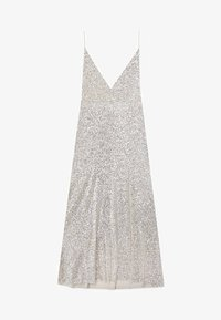 Stradivarius - MIT PAILLETTEN  - Robe de cocktail - grey - 5