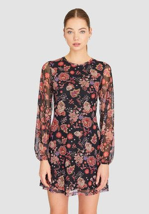 MIT BLUMENPRINT - Denní šaty - black