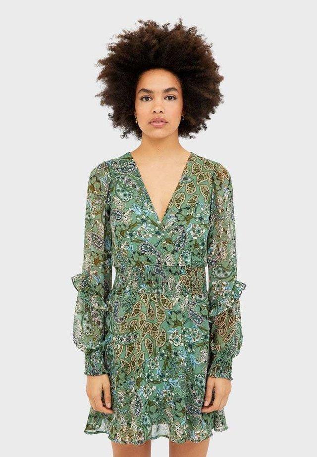 VOLANTKLEID 02358654 - Korte jurk - turquoise