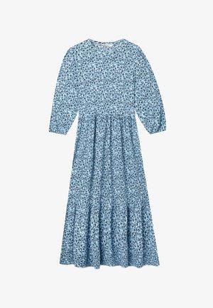 MIT PUFFÄRMELN  - Korte jurk - blue