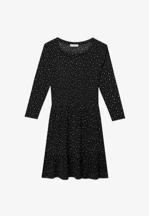 MIT STERNENPRINT - Day dress - black