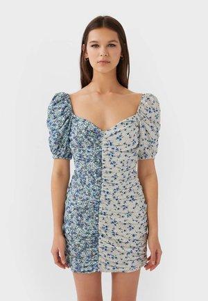 Robe fourreau - blue