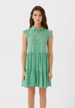Skjortekjole - green