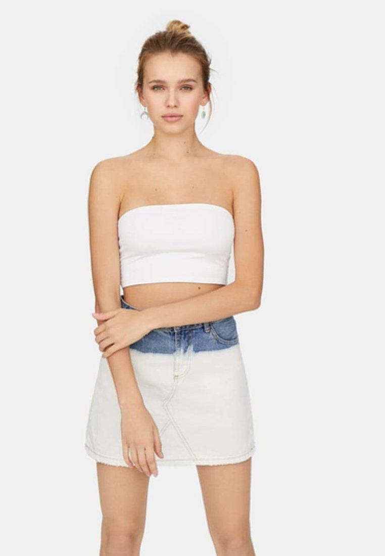 Stradivarius - 02544934 - Top - white