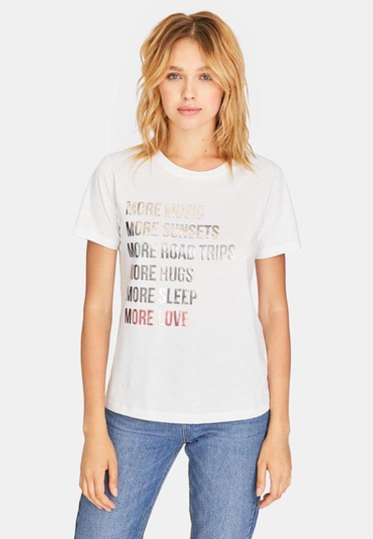 Stradivarius - T-Shirt print - white