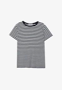 Stradivarius - T-shirt print - black - 4