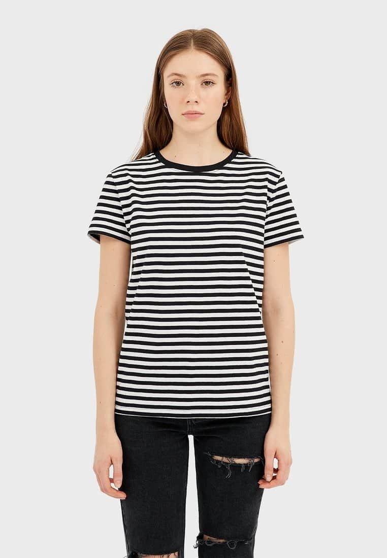 Stradivarius - T-shirt print - black