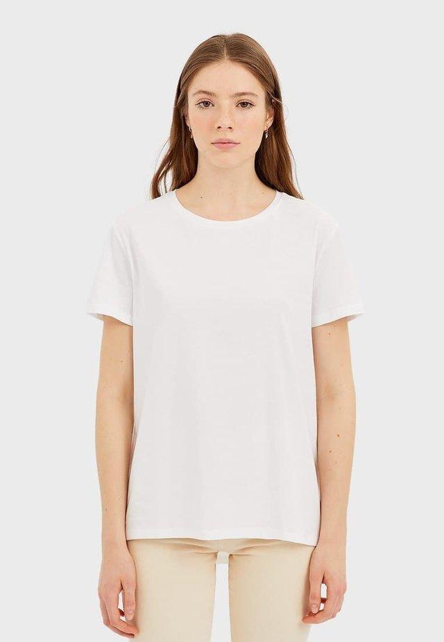 T-shirts basic - white