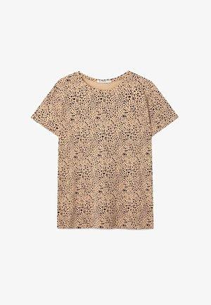 BASIC-SHIRT 02500517 - T-shirt con stampa - brown