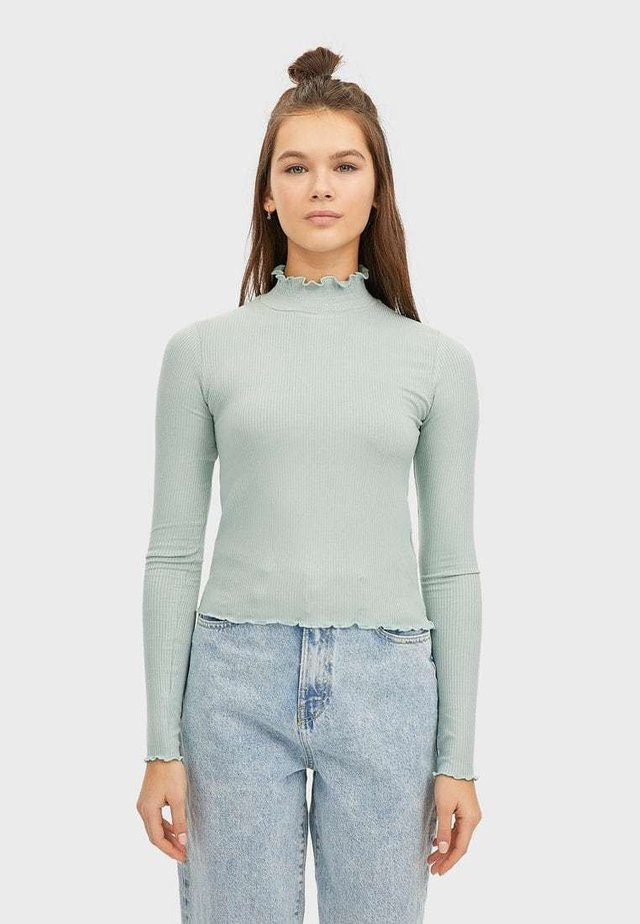 07001104 - Langærmede T-shirts - turquoise