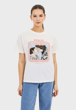 SHIRT STAR WARS 02602689 - T-shirts print - white